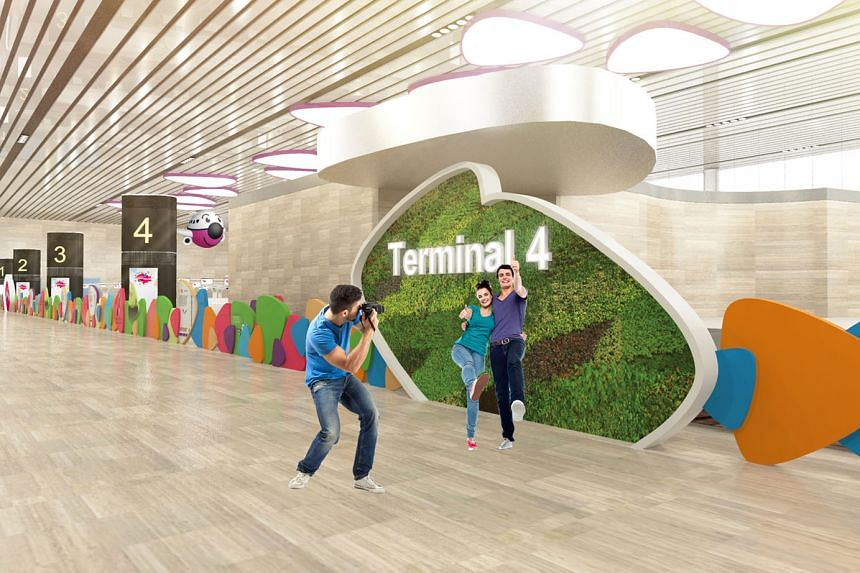 Digital renderings of the displays that will be put up during the Terminal 4 Open House, which will run daily from Aug 7 to Aug 20, from 9am to 6pm. Registration for free tickets opened online early this morning.