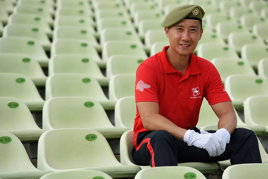 LTC (NS) Lim Wee Tee is the fifth NSman to lead the Parade-and-Ceremony segment, which includes the Guard of Honour contingents, the Singapore Armed Forces Colours Party, the Combined Band and contingents formed by uniformed youth groups.