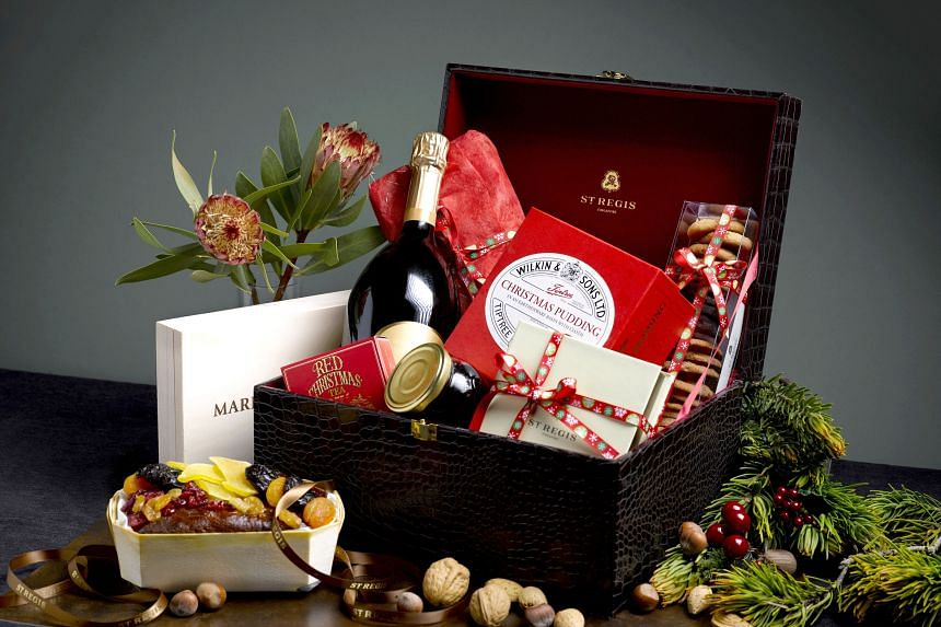 A Hamper Is A Quick And Easy Way Of Showing Gratitude And Christmas Cheer This Holiday