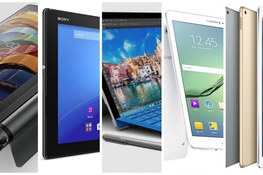 ST Digital Awards nominees for best tablet.