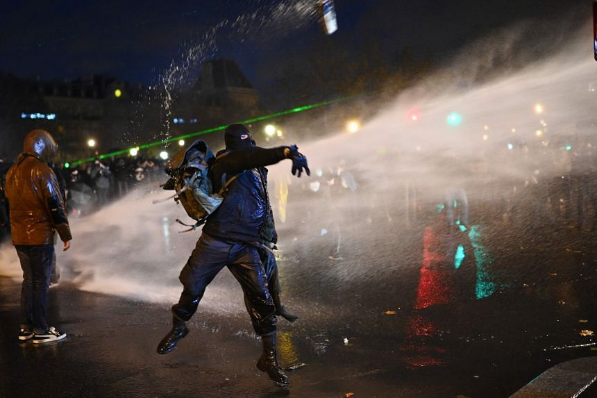 Dozens arrested at new Paris protest against security law