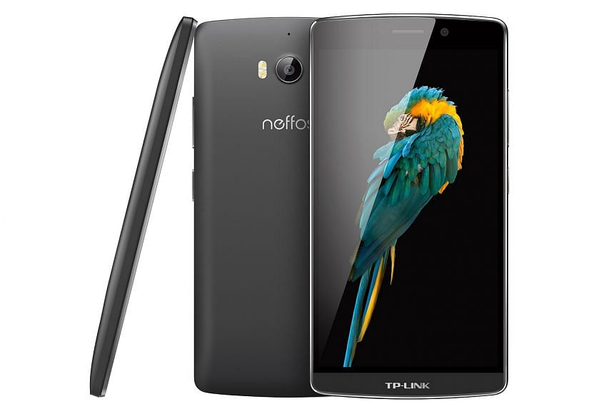 The $259 Neffos C5 Max is a 5.5-inch Android smartphone with 16GB of internal storage.