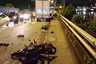 Motorcycle accident claims life