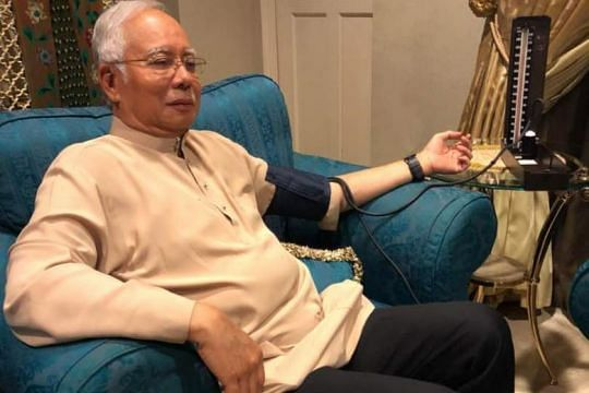 Ex Malaysian PM Najib undergoes health check, leaves home to attend events in Pekan