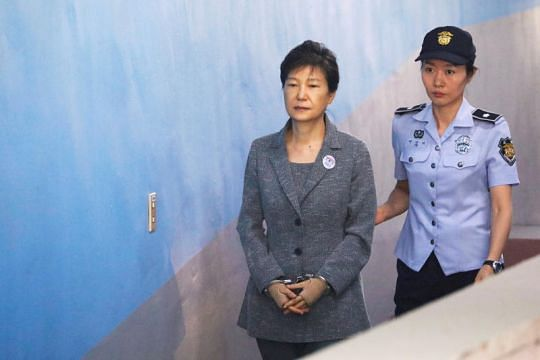 South Korean court hands former president Park Geun hye another 8 years in jail