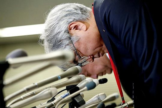 Japan firm admits faking quake shock absorber data