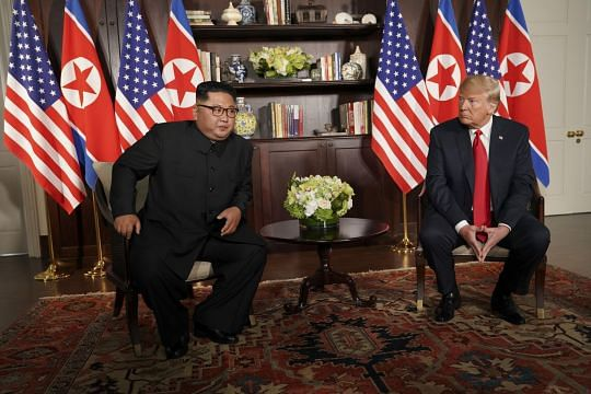 Trump says North Korean missile sites are 'nothing new'