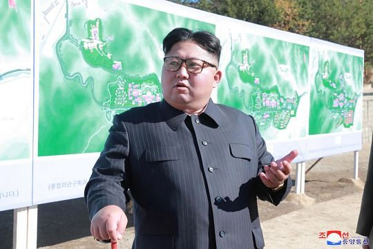North Korea state media says Kim Jong Un oversees testing of 'newly developed' weapon Yonhap