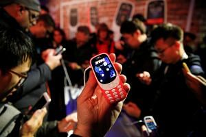 Finnish brand Nokia unveiled a revamped version of its iconic 3310 model on Sunday (Feb 26).