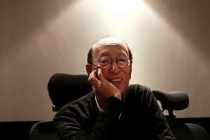 The living giant of Japanese theatre, legendary director Yukio Ninagawa (above) is back in Singapore for the first time in more than 20 years to present the samurai action-comedy Musashi at the Esplanade Theatre on Nov 8 and 9. -- ST PHOTO: