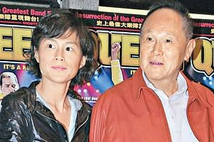 Hong Kong socialite Gigi Chao (left), with her father, Mr Cecil Chao, a tycoon and owner of public-listed property developer Cheuk Nang. The Hong Kong tycoon who offered millions of dollars to any man who could win the heart of his lesbian daughter s