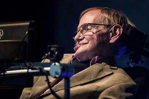 Theoretical physicist Stephen Hawking (above) can communicate with the world faster and easier thanks to new technology from Intel and SwiftKey which replaces the decades-old platform that made his computerised voice recognisable around the world. --