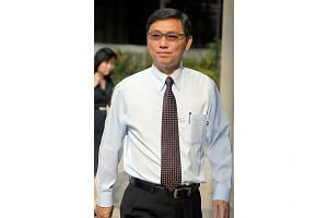 Three former executives of Singapore Technologies Marine, including former president Chang Cheow Teck (pictured), have been charged with corruption and falsification of accounts. -- ST PHOTO: WONG KWAI CHOW