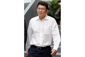 See Leong Teck is said to have conspired with four others to pay bribes, totalling $556,174, to agents of customers. -- ST PHOTO: WONG KWAI CHOW