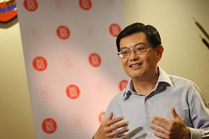 An exposition giving a glimpse of Singapore's future, involving several key agencies, will cap SG50 celebrations this year, SG50 steering committee chief Heng Swee Keat told The Straits Times. -- ST PHOTO: ALPHONSUS CHERN