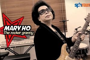 At the age of 60, grandmother of seven Mary Ho bought herself a guitar and taught herself how to strum from scratch. Today, the 78-year-old has released an album, performed at numerous charity concerts and even graced the SG50 official website and it