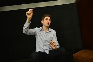 Facebook co-founder Eduardo Saverin at the launch of online property search portal 99.co in January.