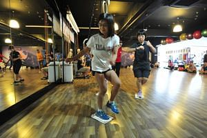 Functional training aims to make one stronger and more able to perform activities in daily life. It is also useful for older adults who should engage in regular physical activity to improve their quality of life. -- ST FILE PHOTO