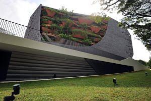 The Lee Kong Chian Natural History Museum (above) opened its doors to the public on April 28 this year.