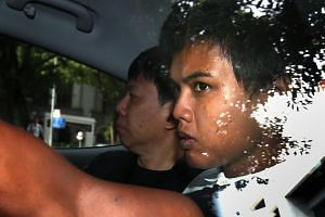 Muhammad Iskandar Sa'at, the man who fired three shots intending to cause physical injury to a policeman at Khoo Teck Puat Hospital on June 20, 2015.