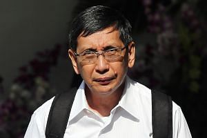 Patrick Lee Swee Ching was given the maximum fine of $210,000 yesterday for falsifying documents to cover up alleged corrupt payments.