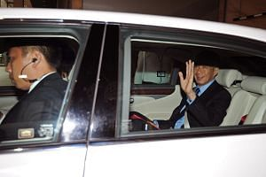 PM Lee leaving the Supreme Court on July 1, 2015.