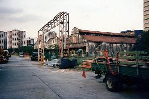 Three derelict warehouses (far left) were transformed into Zouk in 1991. The club used to house a boutique as well as a restaurant (left), among other things.