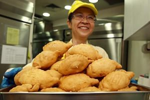Extensive research has gone into ensuring that the pastry of Old Chang Kee's deep-fried curry puff is not oil-logged after frying.