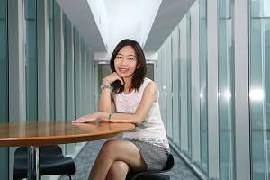 """Ms Serene Chan, a remisier at UOB Kay Hian, says there are now more challenges and opportunities in her industry. Technology has enabled her to reap """"to a certain extent the fruits of the buoyant stock markets in the US, Hong Kong and China""""."""