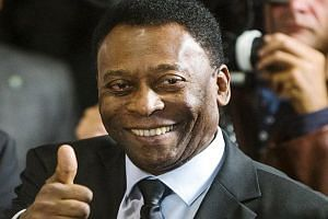 Pele in an April 17, 2015, file photo in New York.