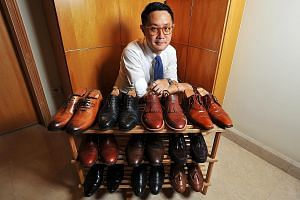 Mr Stanley Chen does not believe in spending more than $1,000 on a pair of shoes.