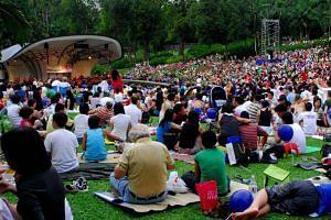 Botanic Gardens will host a carnival alongside live music performances.