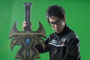 """Wong """"Chawy"""" Xing Lei postponed his tertiary education to game professionally."""