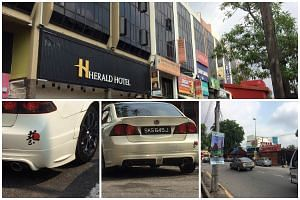 After Mr Joe Ong's white Honda was stolen on July 5, he and his brother, Eric Ong, posted a public appeal online for help to locate his car.