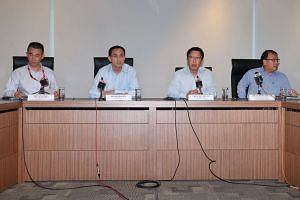 The LTA holds a media briefing on July 29, 2015.