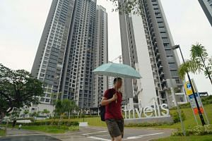 Facade of Trivelis in Clementi.