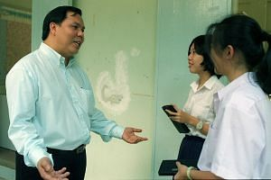 Mr Chan, 40, who had been vice-principal of Hwa Chong JC, now heads Outram Secondary.