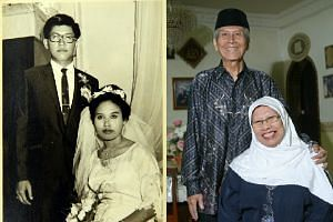 Former teachers Bahari Salleh and Madam Rapeah Talil, both 72, will be celebrating their marriage jubilee with a three-day cruise to Malacca.