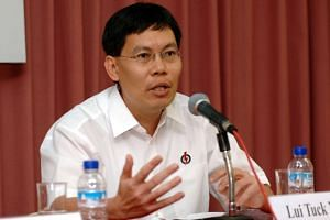 Rear-Admiral (NS) Lui Tuck Yew, 44, was introduced as a PAP candidate in 2006.