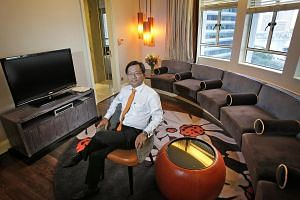 The son of a shoe seller, Mr Chong Kee Hiong is the only graduate in his family.