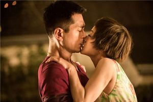 There is little romantic chemistry between Louis Koo and Amber Kuo.