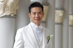 Qi Yuwu's wife Joanne Peh gave birth to a 3.2kg baby girl last Friday.