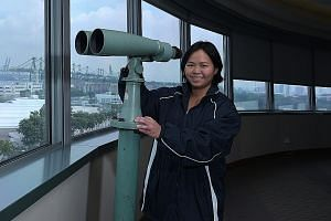 Captain Dorothy Sim is a Maritime and Port Authority of Singapore scholarship holder with a love for the open sea.