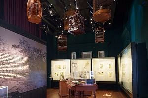 The National Museum's Goh Seng Choo Gallery will host a rotating series of works from the William Farquhar Collection of Natural History Drawings. Its first exhibition, Desire and Danger, features drawings of flora and fauna with aphrodisiacal or poi