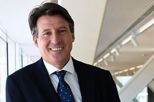 Sebastian Coe was elected the new president of the International Association of Athletics Federations on Wednesday.