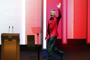 PM Lee announced key policy changes that drew cheers from many in the audience.