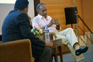 Singapore up to now has not had to think about how its foreign policy might upset the domestic constituency, said Foreign Minister K. Shanmugam.
