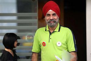 The SDA's chief media officer Harminder Pal Singh.