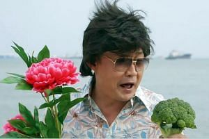 Actor Chen Tianwen's cheesy music video Unbelievable has helped land the actor a leading role in a movie about getai.