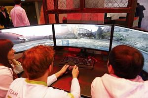 At the recent IFA trade show (above) in Berlin, Acer launched four Nvidia G-Sync gaming monitors while Asus announced a curved Nvidia G-Sync monitor.